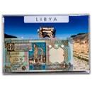2002-2004 Libya 1/4-1 Dinar Banknote Set Unc