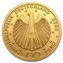 2002-2015 Germany Gold 100 Euro BU