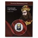 2002 Andorra Charles the Great 1 Centim Blistercard BU