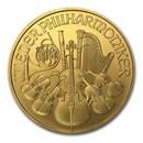 2002 Austria 1 oz Gold Philharmonic BU