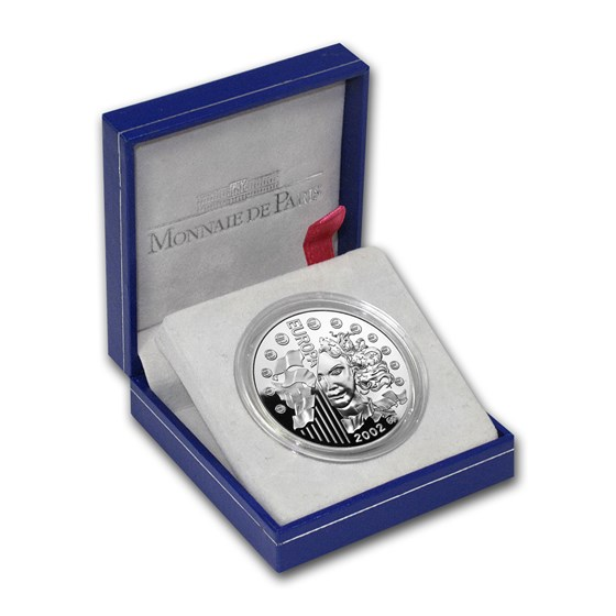 2002 France Silver 1.5 Euro Europa Proof