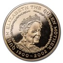 2002 Great Britain Gold £5 Queen Mother Proof