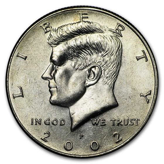 2002-P Kennedy Half Dollar BU