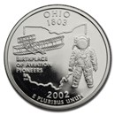 2002-S Ohio State Quarter Gem Proof (Silver)