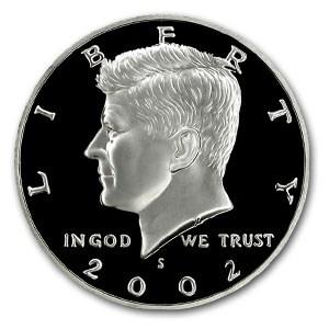 2002-S Silver Kennedy Half Dollar Gem Proof