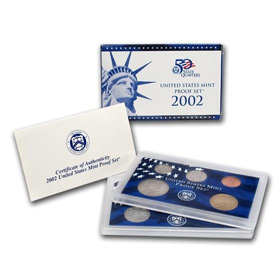 2002-S U.S. Proof Set
