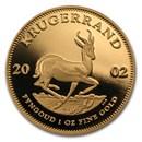 2002 South Africa 1 oz Proof Gold Krugerrand