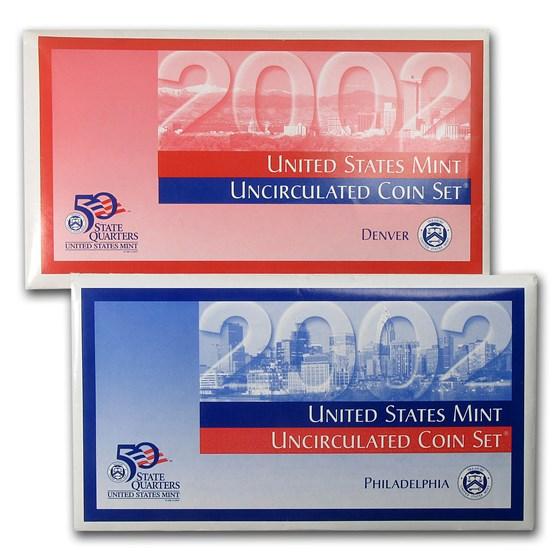 2002 U.S. Mint Set