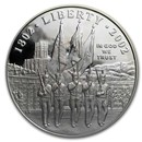 2002-W West Point Bicentennial $1 Silver Commem Pf (Capsule Only)
