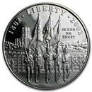 2002-W West Point Bicentennial $1 Silver Commem Prf (w/Box & COA)