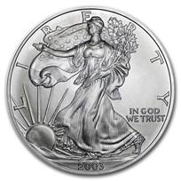 2003 1 oz American Silver Eagle BU