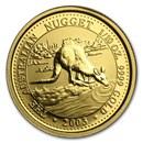 2003 Australia 1/10 oz Gold Nugget
