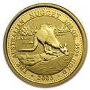 2003 Australia 1/20 oz Gold Nugget