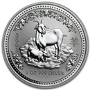 2003 Australia 1 oz Silver Year of the Goat BU (Series I)