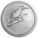 2003 Australia 10 oz Silver Kookaburra BU