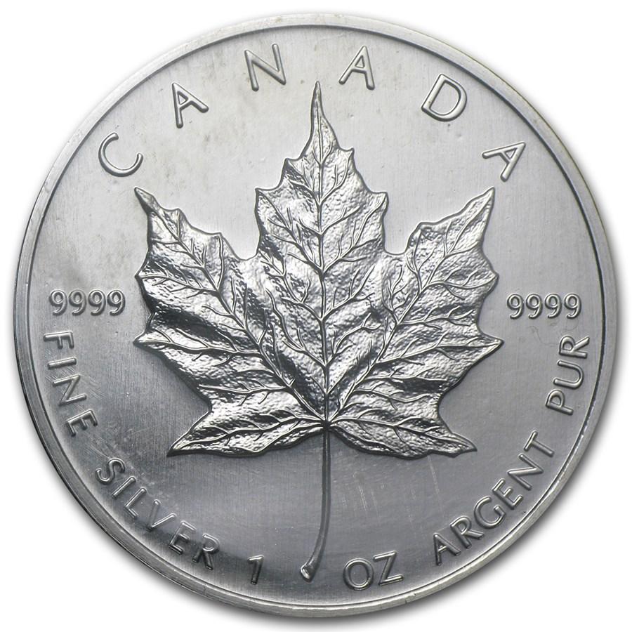 2003 Canada 1 oz Silver Maple Leaf BU