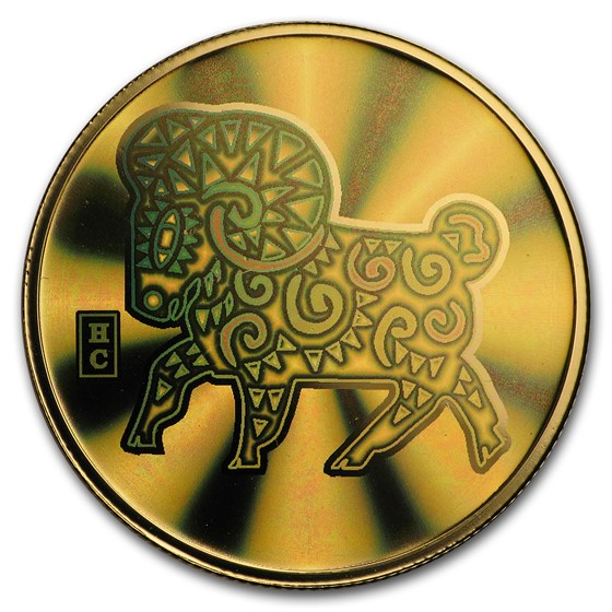 2003 Canada Gold $150 Sheep (Hologram, w/out Box & COA)