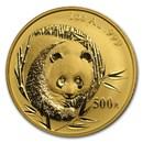 2003 China 1 oz Gold Panda BU (In Capsule)