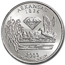 2003-D Arkansas State Quarter BU