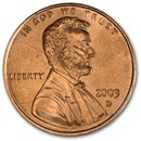 2003-D Lincoln Cent BU (Red)