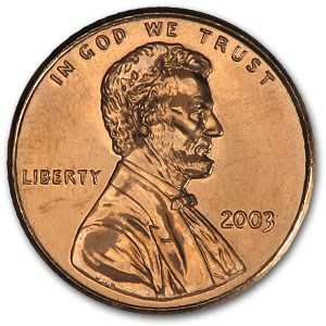 2003 Lincoln Cent BU (Red)
