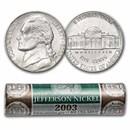 2003-P Jefferson Nickel 40-Coin Roll BU (Mint Wrapped)