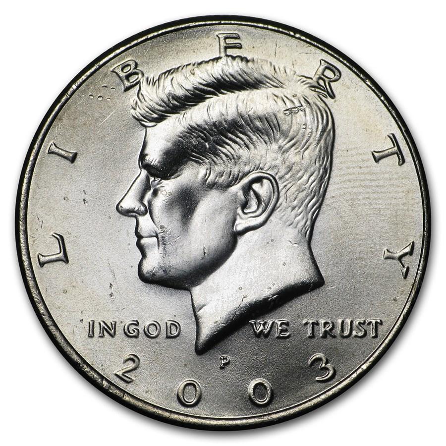 2003-P Kennedy Half Dollar BU