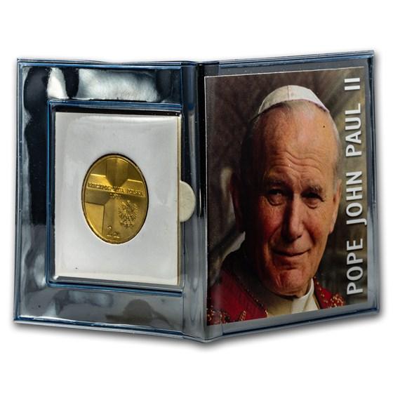 2003 Poland 2 Zlote John Paul II Mini Album