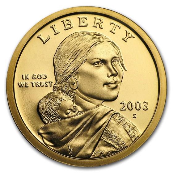 2003-S Sacagawea Dollar Gem Proof