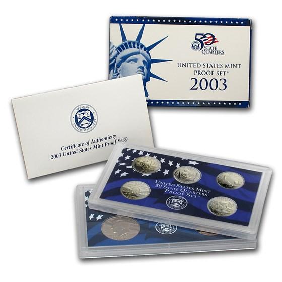 2003-S U.S. Proof Set
