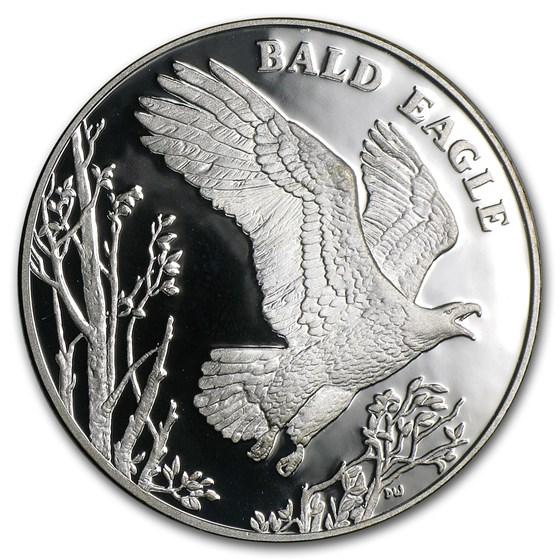 2003 Silver Nat. Wildlife Refuge System Medal Bald Eagle (Proof)