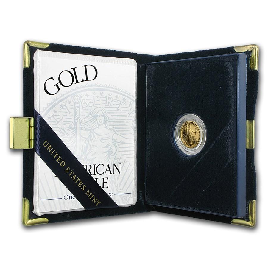 2003-W 1/10 oz Proof American Gold Eagle (w/Box & COA)