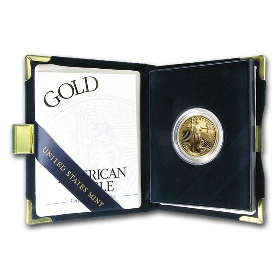 2003-W 1/2 oz Proof American Gold Eagle (w/Box & COA)