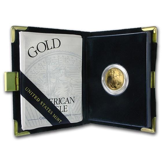 2003-W 1/4 oz Proof American Gold Eagle (w/Box & COA)