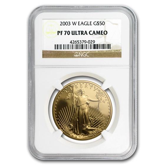 2003-W 1 oz Proof American Gold Eagle PF-70 NGC