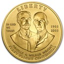 2003-W Gold $10 Commem First Flight Centennial BU (Capsule only)