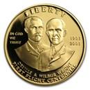 2003-W Gold $10 Commem First Flight Centennial Prf (w/Box & COA)