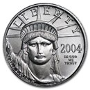 2004 1/10 oz American Platinum Eagle BU