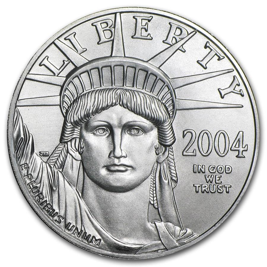 2004 1 oz Platinum American Eagle BU