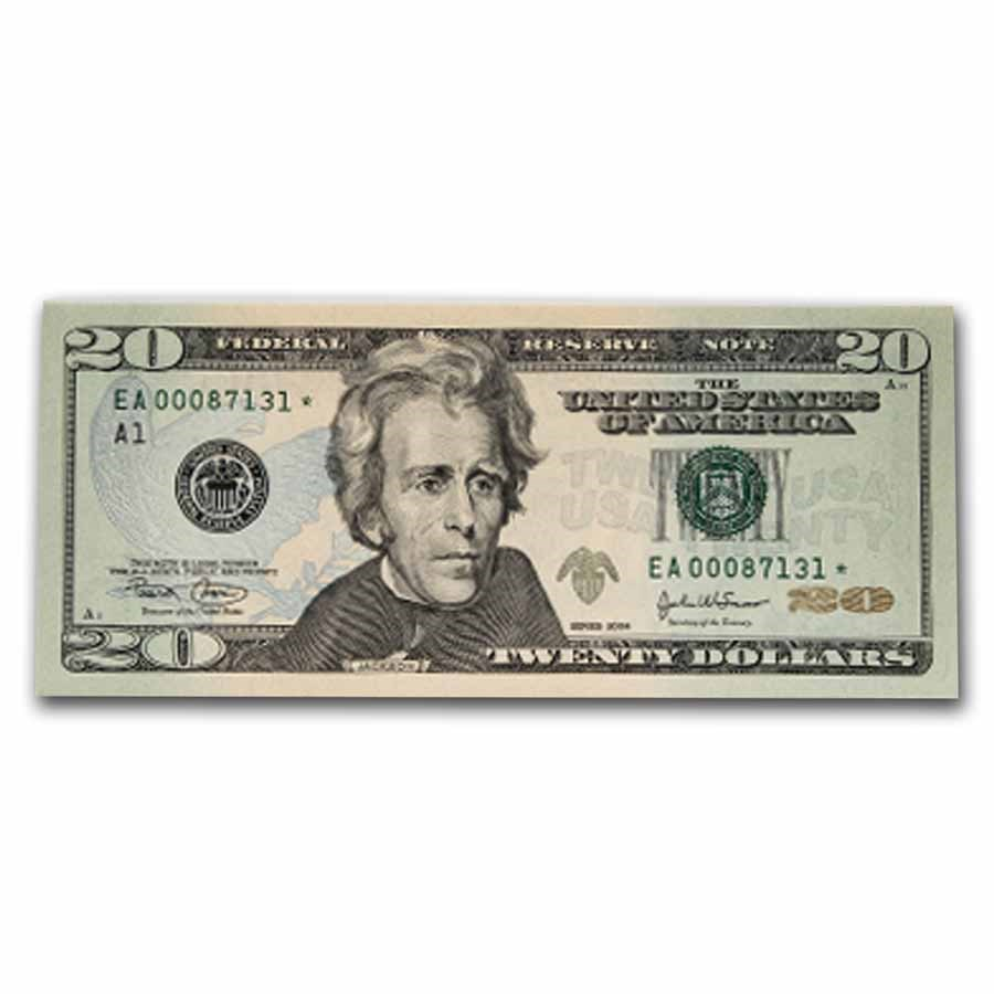 2004* (A-Boston) $20 FRN CU (Star Note)