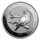 2004 Australia 1 kilo Silver Kookaburra BU