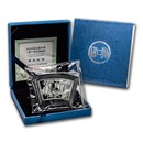 2004 China 1 oz Silver Fan Year of the Monkey (w/Box & COA
