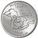 2004-D Michigan State Quarter BU