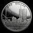 2004 Northern Mariana Islands Silver World Trade Center Proof