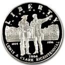 2004-P Lewis & Clark Bicent'l $1 Silver Commem Prf (Capsule only)