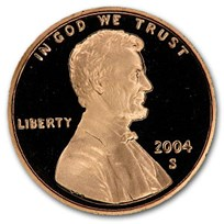 2004-S Lincoln Cent Gem Proof (Red)