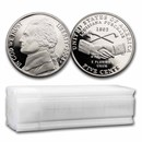 2004-S Peace Medal Nickel 40-Coin Roll (Proofs)