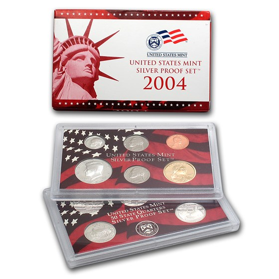 2004-S Silver Proof Set