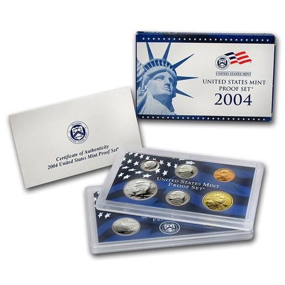 2004-S U.S. Proof Set