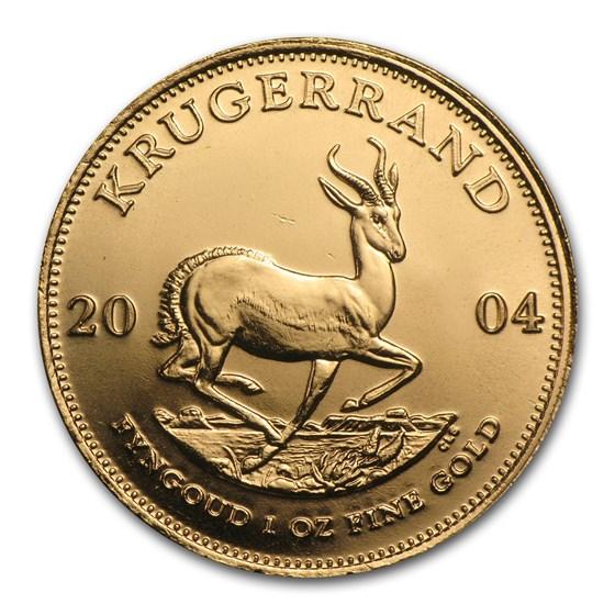 2004 South Africa 1 oz Gold Krugerrand BU